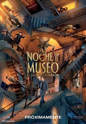 Película de Noche en el museo 3: el secreto del Faraón