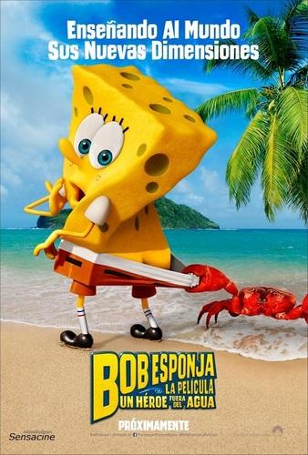 Película de Bob esponja: un héroe fuera del agua