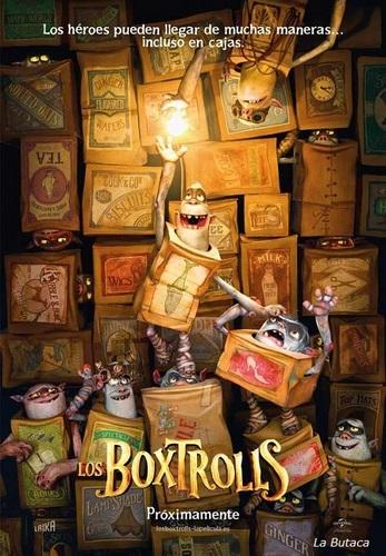 Cartel de Los Boxtrolls