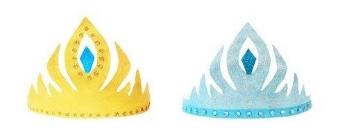 Tutorial para crear coronas de Frozen de firstpalette