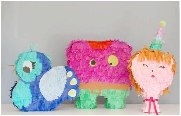 Cómo hacer originales piñatas infantiles