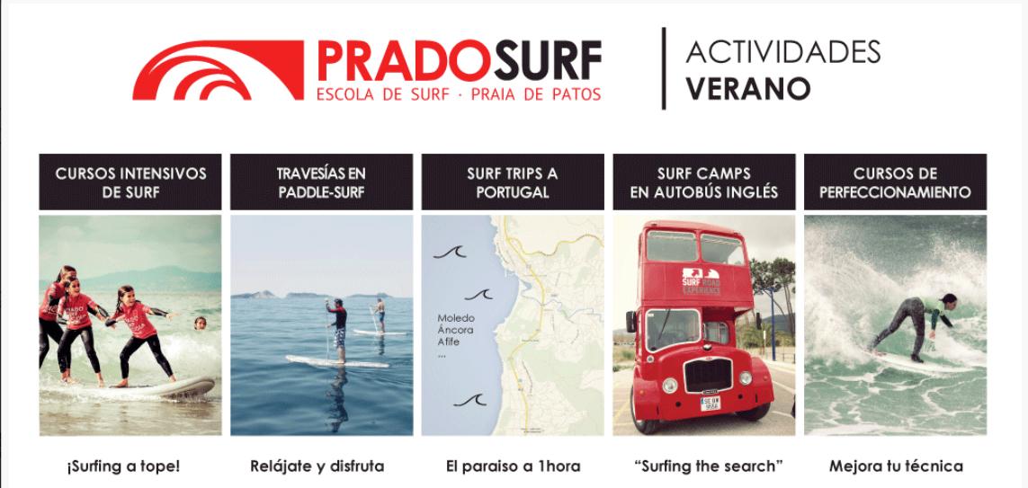 Actividades Prado Surf