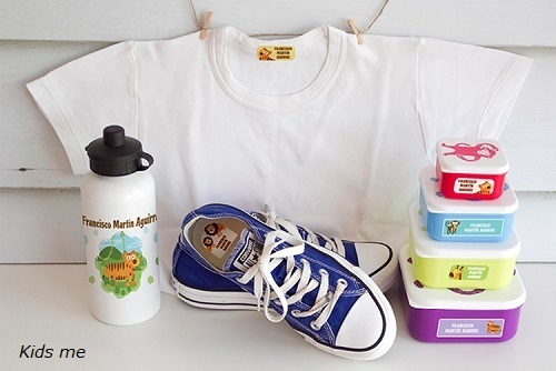 Etiquetas personalizadas para todas las prendas