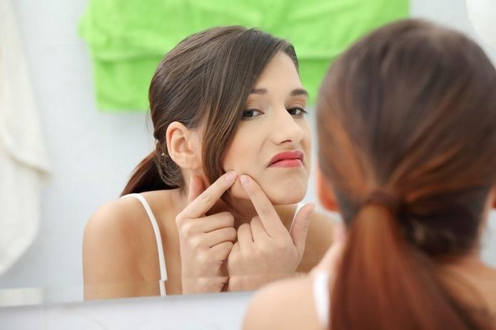 El acné juvenil