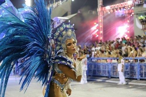 Carnaval de Rio en Brasil