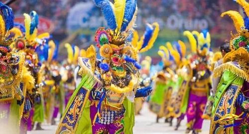 Carnaval de Oruro, en Bolivia