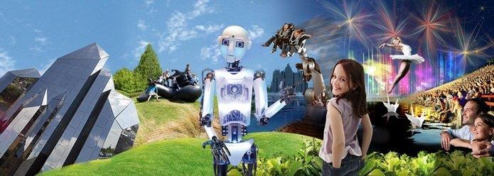 Futuroscope. Un viaje al futuro.