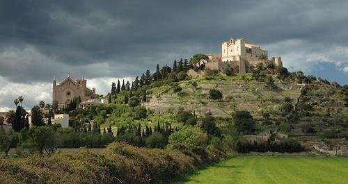 Vistas del Jardí d'Artá, en Mallorca