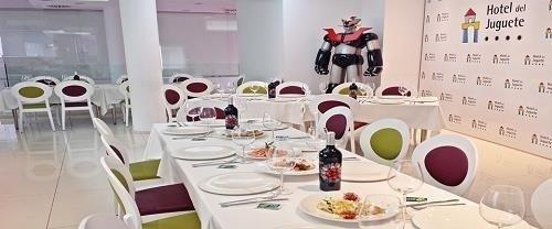 Hotel temático para niños Hotel del Juguete en Ibi, Alicante