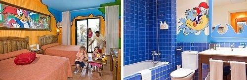 Hotel temático para niños Port Aventura