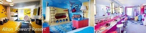 Hoteles temáticos para niños en Europa