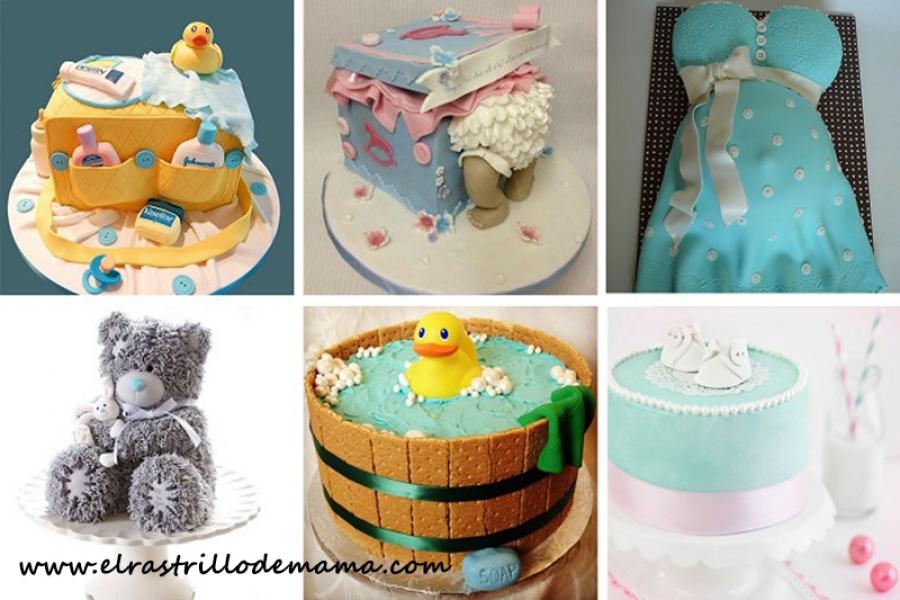 Tartas para un baby shower tartas de beb s tartas para for Todo ideas originales para decorar