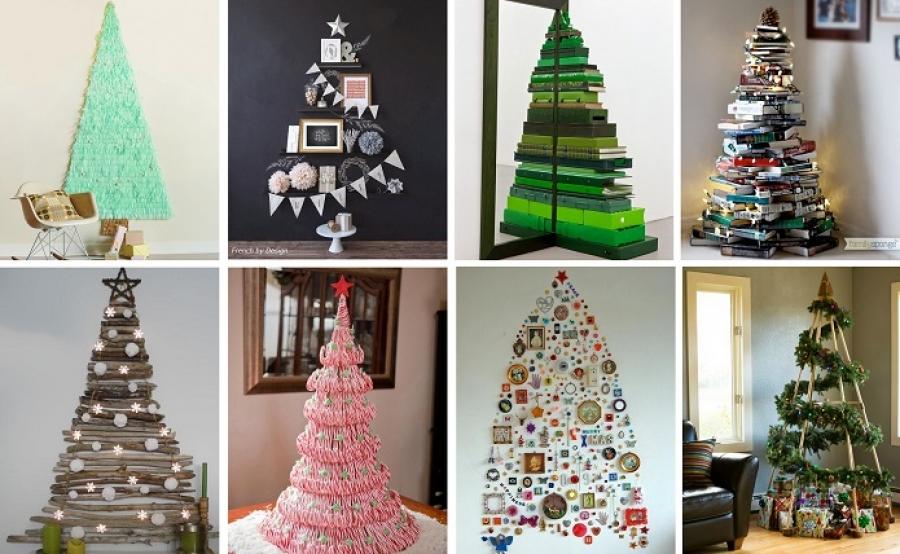 Rboles de navidad muy originales decoraci n de navidad - Decoracion exteriores navidad ...