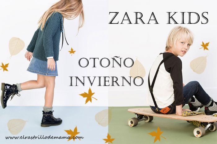 23018d2f4 Moda niños  nueva colección Zara Kids otoño invierno