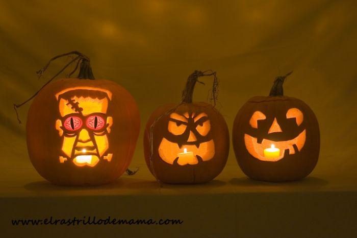 Halloween c mo decorar calabazas disfruta decorando con - Calabazas halloween originales para ninos ...