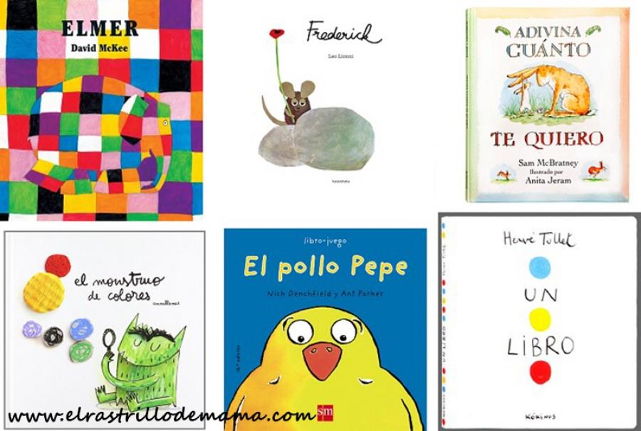 3 titulos de libros infantiles
