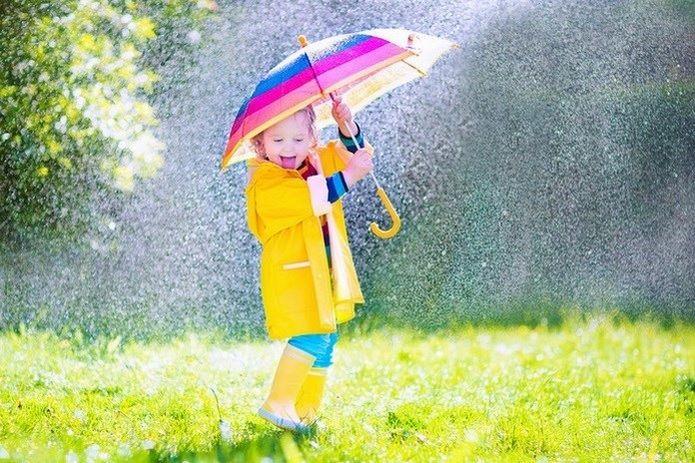 No importa que llueva... con botas de agua